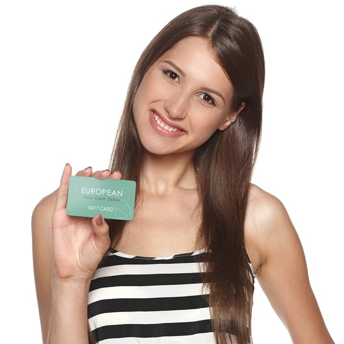 European Skin Care Salon Gift Certificates
